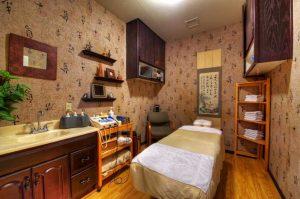 Chiropractic Orange CA Office Massage Room